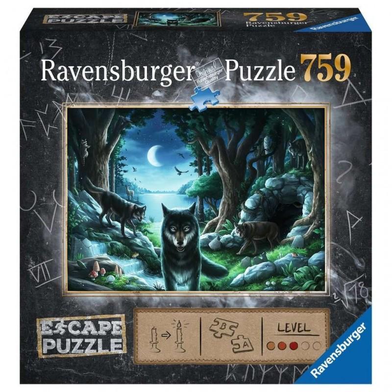 Escape Puzzle - Histoires de loups un jeu Ravensburger