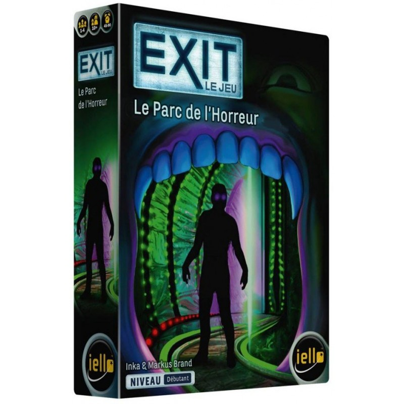 Exit - Le parc de l'horreur un jeu Iello