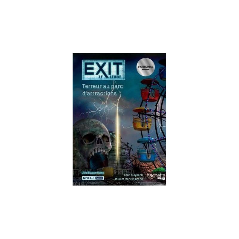 Exit - Terreur au parc d'attraction un jeu Hachette