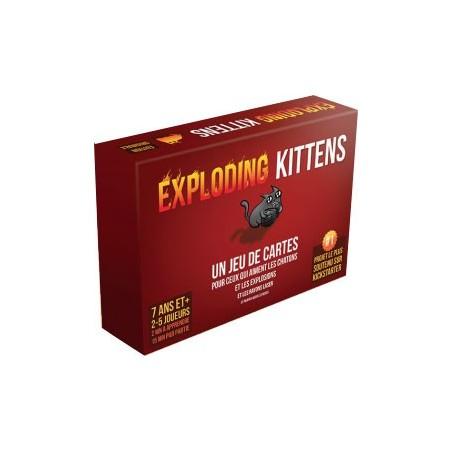 Exploding Kittens un jeu