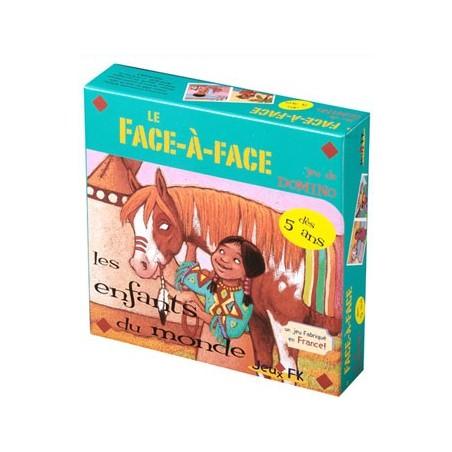 Le face à face - Les enfants du monde un jeu Jeux FK