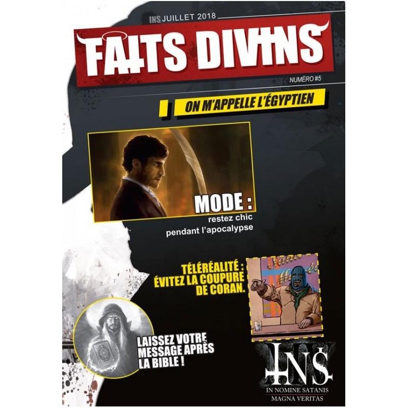 INS/MV : Génération perdue - Faits Divins N∞5 un jeu Raise Dead Editions