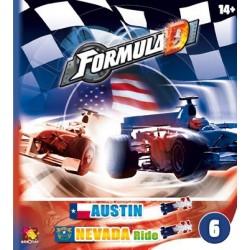 Formula D - Austin / Nevada un jeu Asmodee