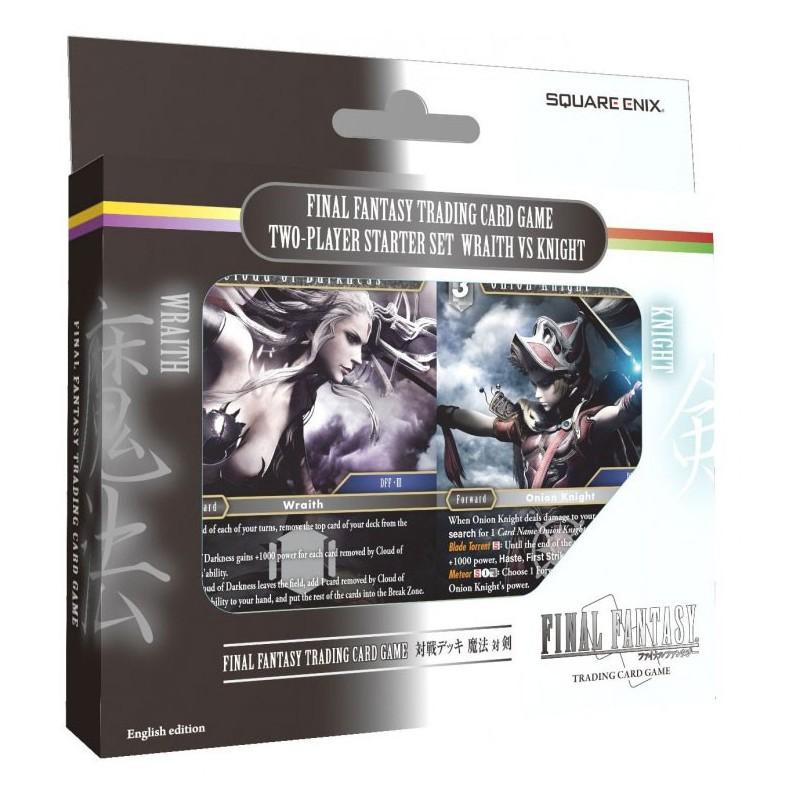 Final Fantasy - Versus Deck Wraith and Knight un jeu Square Enix