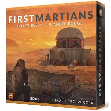 First Martians - Aventures sur la planète rouge un jeu Edge