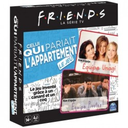 Friends : celui qui pariait l'appartement un jeu Spin master