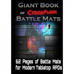Giant Book of cyberpunk un jeu LokeBattleMats