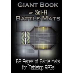 Giant book of sci-fi battle mats un jeu LokeBattleMats