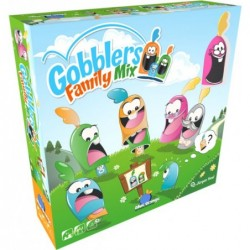 Gobblers family mix un jeu Blue orange
