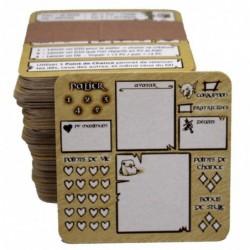 Gobelin qui s'en dédit - 100 fiches de personnages un jeu Posidonia