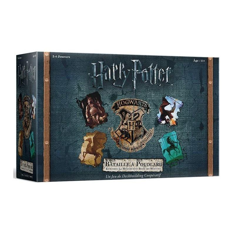Harry Potter Bataille à Poudlard - Monstrueuse boite de monstres un jeu