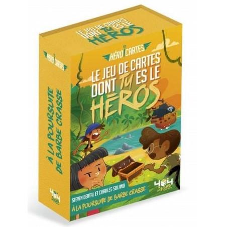 Hero cartes - À la poursuite de barbe crasse un jeu 404 éditions