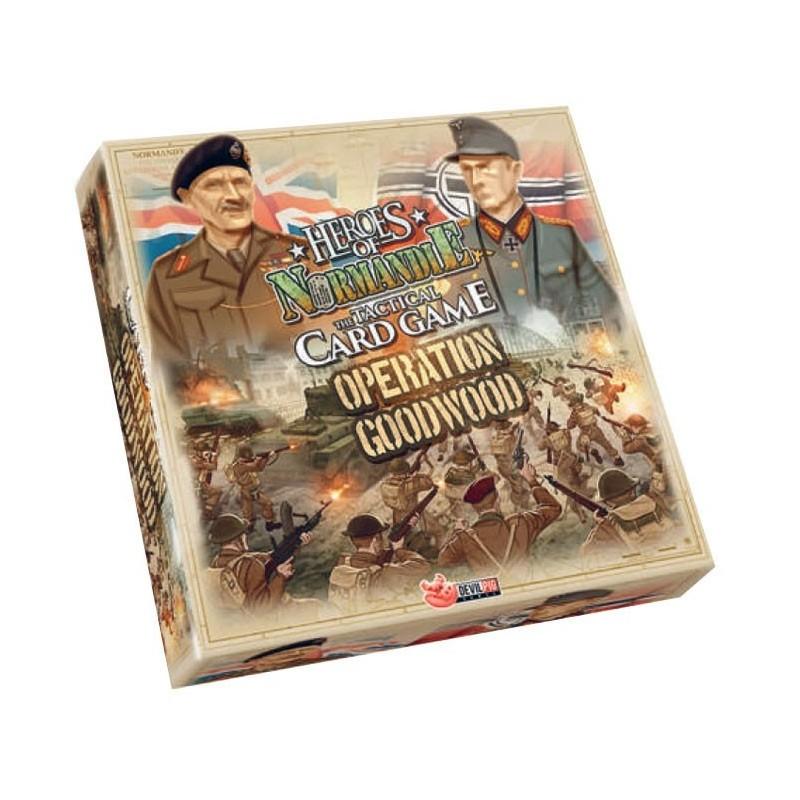 Card Game - Opération Goodwood un jeu Nuts Publishing