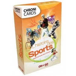 Chroni Cards - L'Histoire des Sports un jeu On the Go