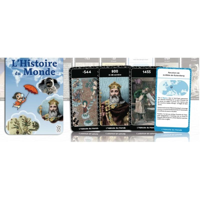 Chroni Cards - L'Histoire du Monde un jeu On the Go