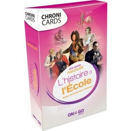 Chroni Cards - L'Histoire à l'Ecole un jeu On the Go