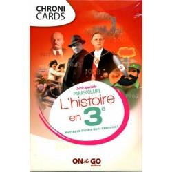 Chronicards - L'histoire en 3 ème un jeu On the Go