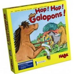 Hop ! Hop ! Galopons ! un jeu Haba
