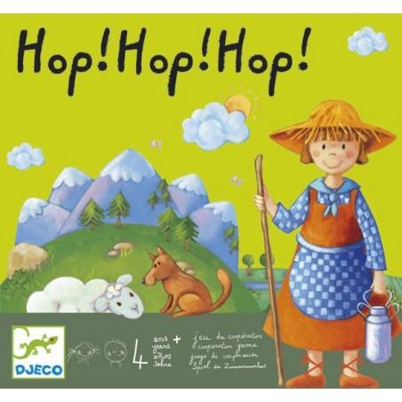 Hop! Hop! Hop! un jeu Djeco