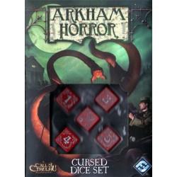 Dés rouge pour horreur à Arkham un jeu Edge