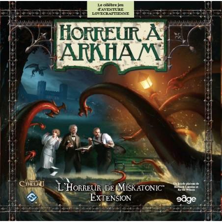 Horreur à Arkham - L'Horreur de Miskatonic un jeu Edge