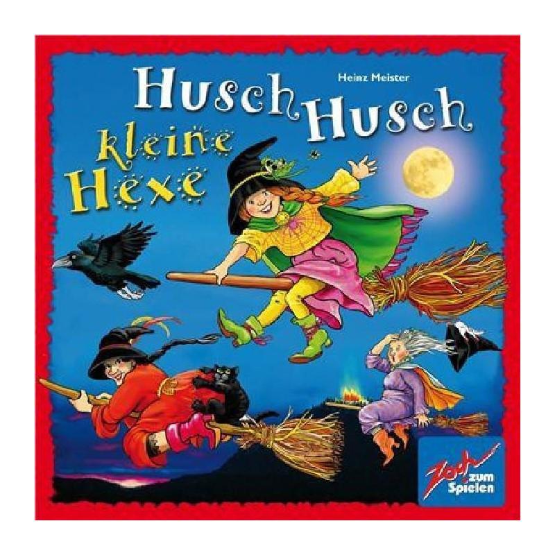Husch Husch Kleine Hexe - Turlututu chapeaux pointus un jeu Zoch