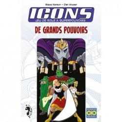 Icons : Grands pouvoirs un jeu John Doe
