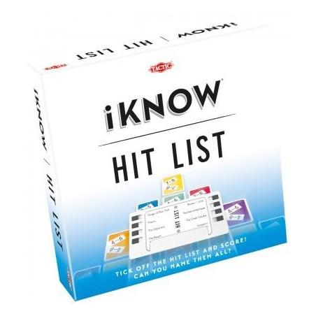 iKnow - Hit List un jeu Tactic
