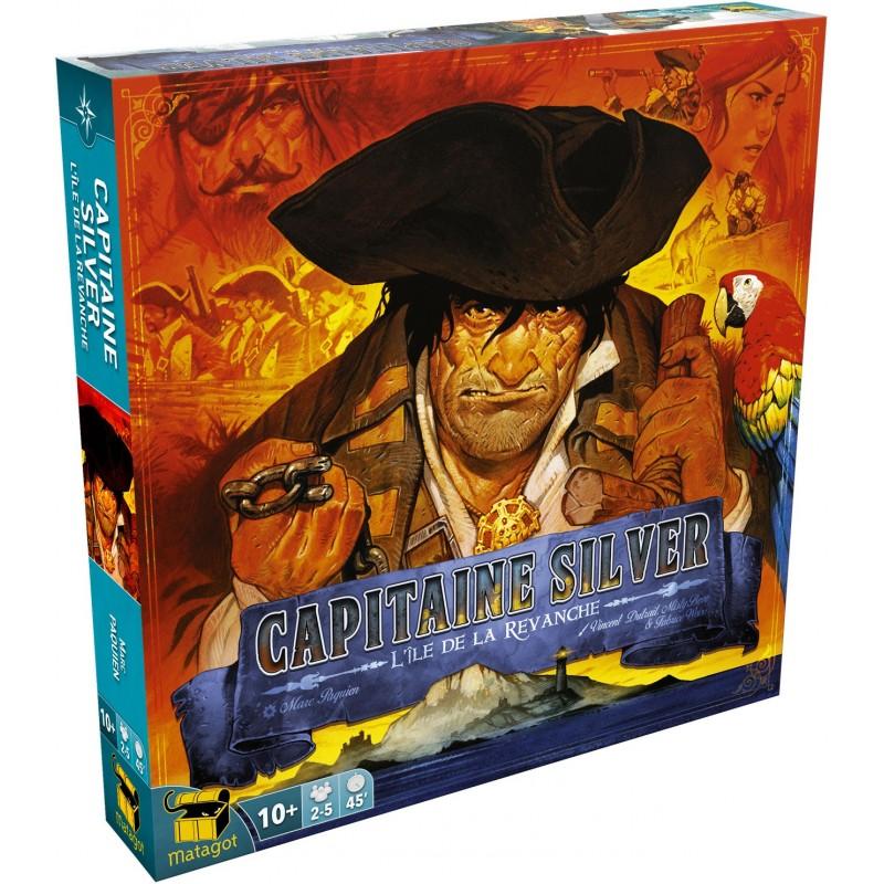 L'île au trésor - Capitaine Silver : L'Ile De La Revanche un jeu Matagot