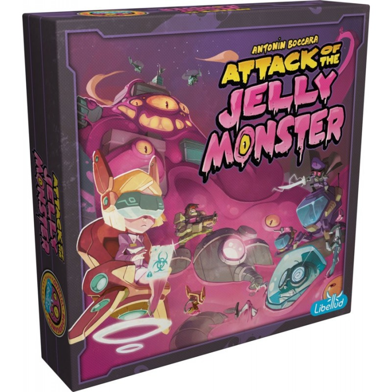Attack of the Jelly Monster un jeu Libellud