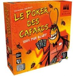 Le poker des cafards un jeu Gigamic