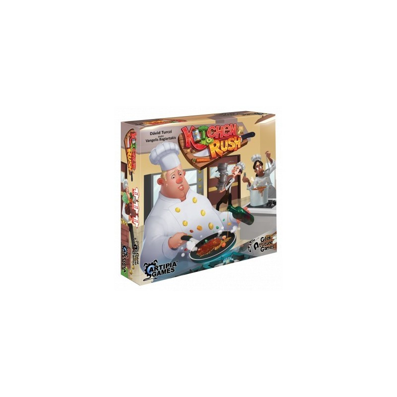 Kitchen Rush un jeu Geek Attitude Games