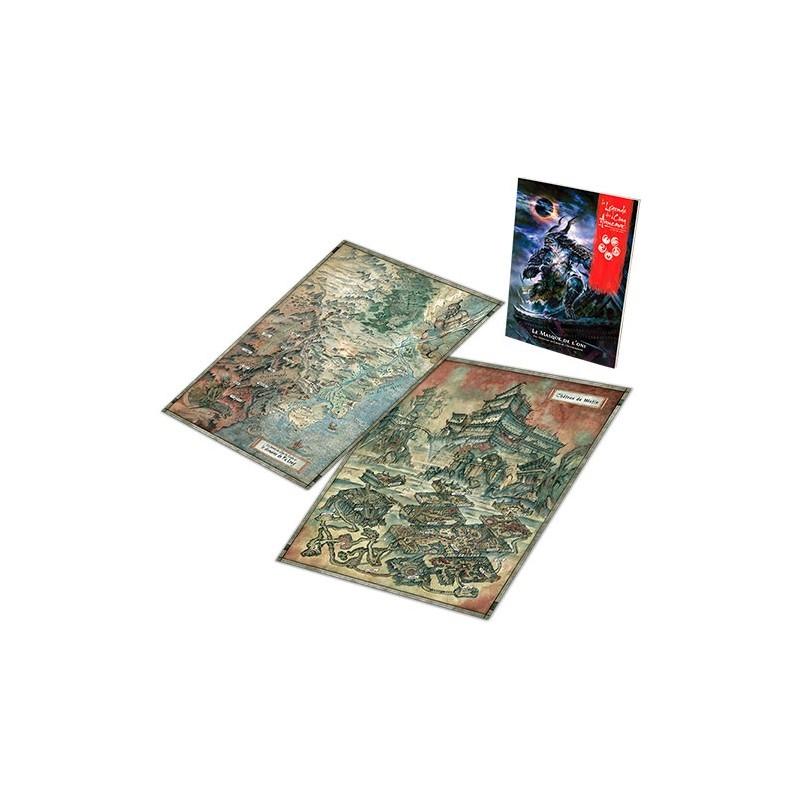 Le masque de l'Oni un jeu FFG France / Edge