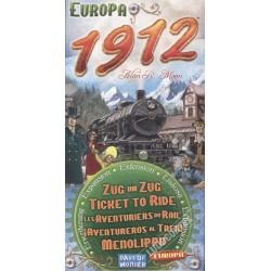 Les aventuriers du rail : extension Europe 1912 un jeu Days of wonder