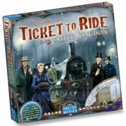 Les aventuriers du rail - Royaume-uni un jeu Days of wonder