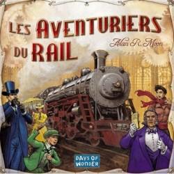 Les aventuriers du rail USA un jeu Days of wonder