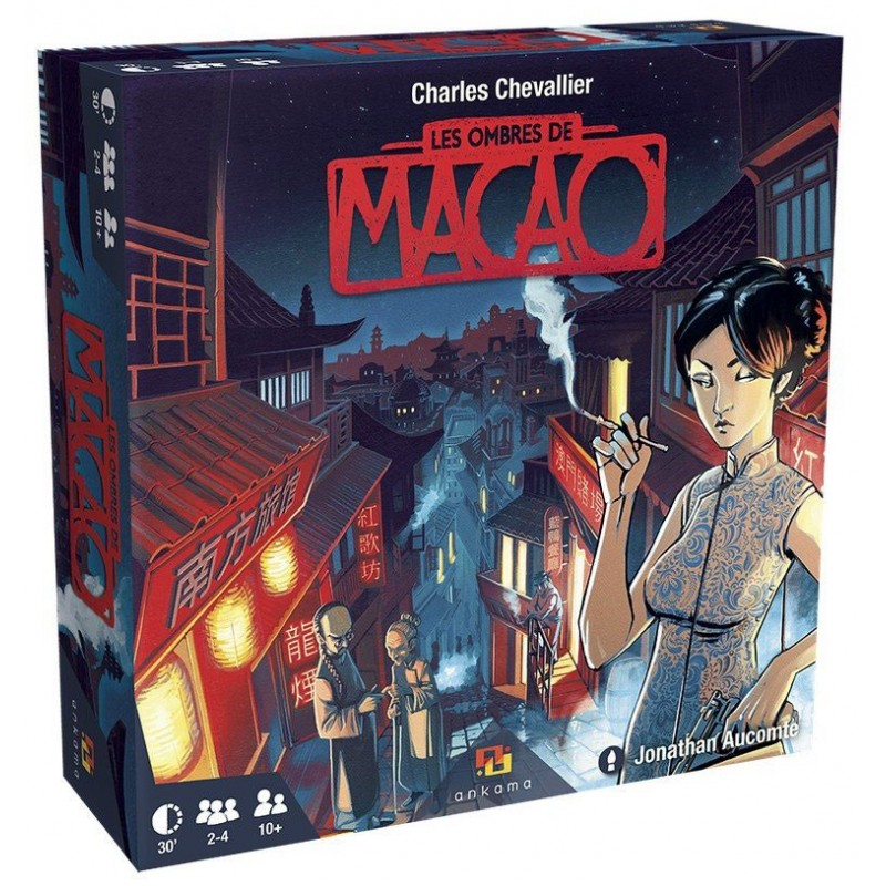 Les ombres de Macao un jeu Ankama