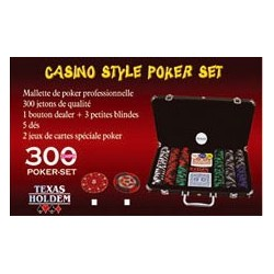 Mallette Poker 300 jetons 14