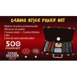 Mallette Poker 500 jetons 14