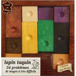Lapin Taquin - 54 défis un jeu Jeandel