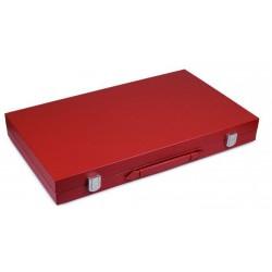 Backgammon 46 cm simili cuir un jeu Loisirs Nouveaux