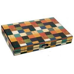 Backgammon arlequin un jeu Loisirs Nouveaux