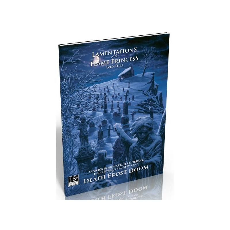 Lamentations of the Flame Princess : Death Frost un jeu Black Book