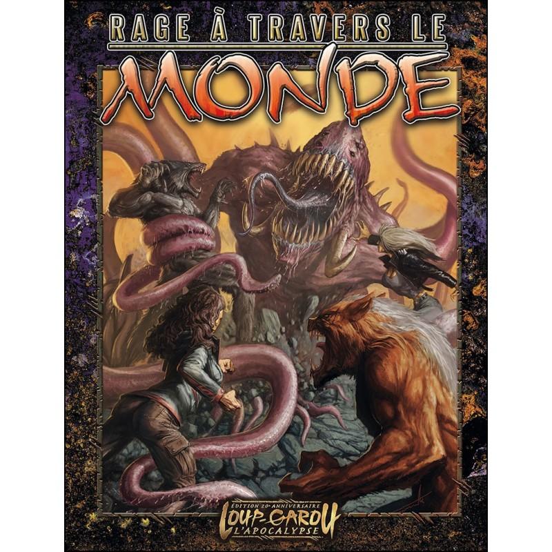 Rage à travers le monde un jeu Arkhane Asylum Publishing