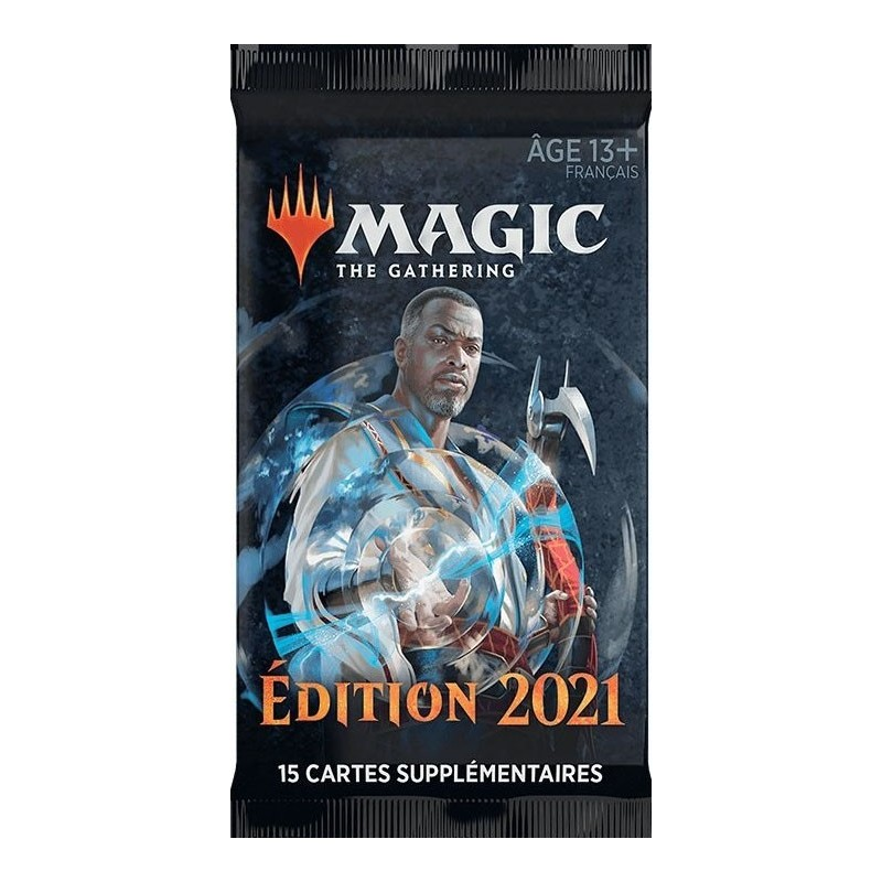 Edition 2021 - Booster un jeu Wizards of the coast