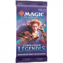 Commander Legendes Booster 20 cartes un jeu Wizards of the coast