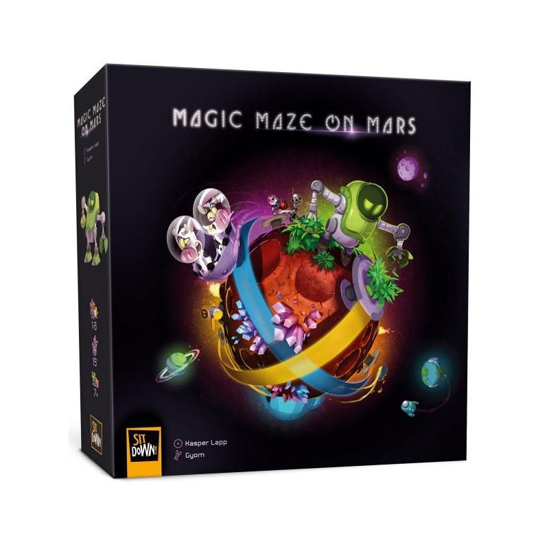 Magic Maze on Mars un jeu Sit down