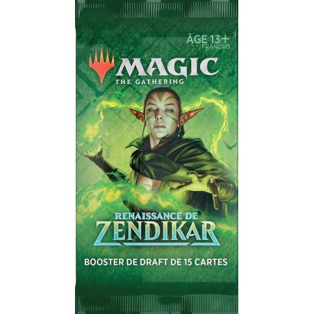 Magic - Booster Renaissance de Zendikar un jeu Wizards of the coast