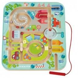 Jeu magnétique - Ville labyrinthe un jeu Haba