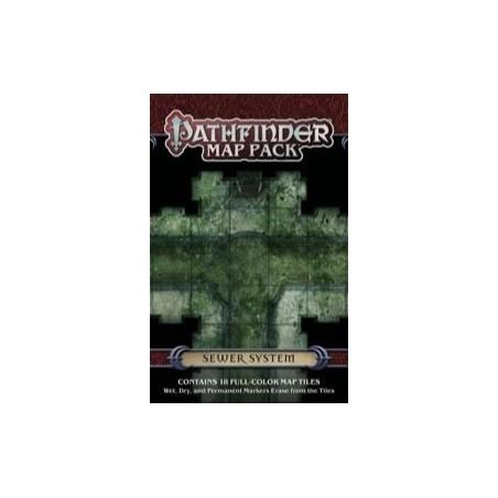 Map Pack : Sewer System un jeu Paizo